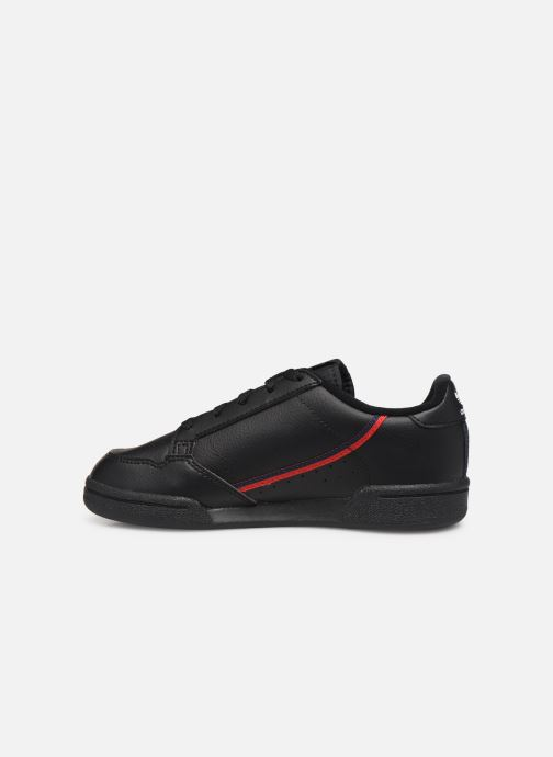 Sneakers adidas originals Continental 80 C Nero immagine frontale