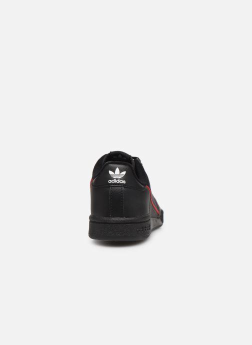 Baskets adidas originals Continental 80 C Noir vue droite