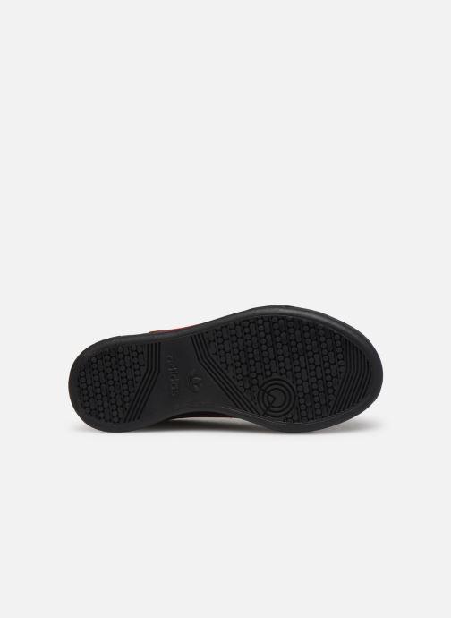 Baskets adidas originals Continental 80 C Noir vue haut
