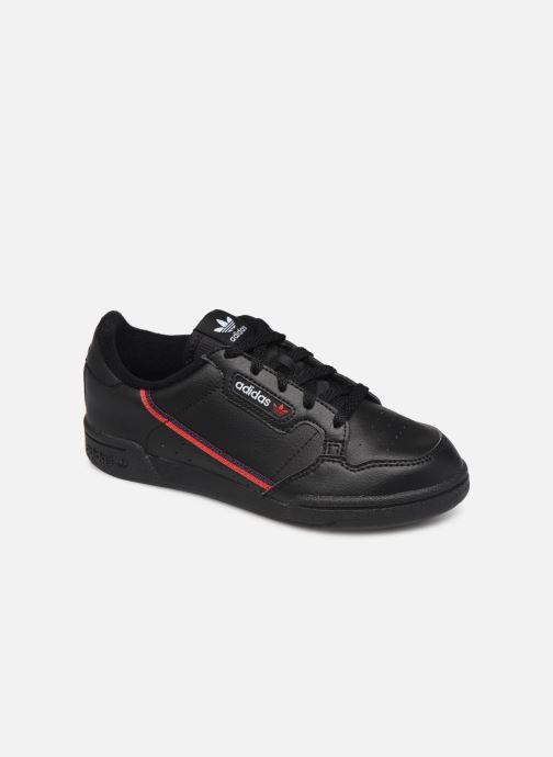 Baskets adidas originals Continental 80 C Noir vue détail/paire