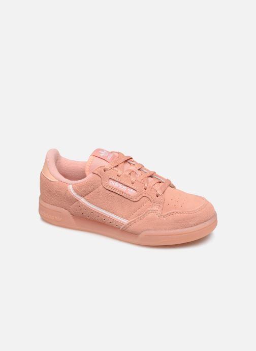 Baskets adidas originals Continental 80 C Rose vue détail/paire