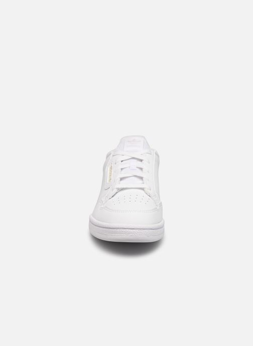 Baskets adidas originals Continental 80 C Blanc vue portées chaussures