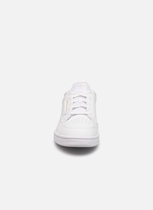 Sneakers adidas originals Continental 80 C Bianco modello indossato