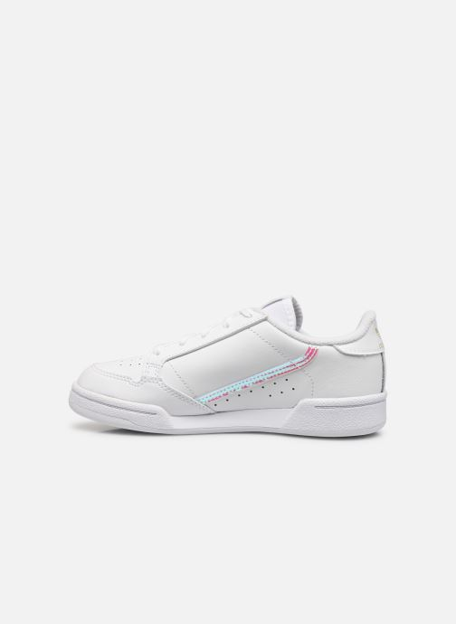 Deportivas adidas originals Continental 80 C Blanco vista de frente