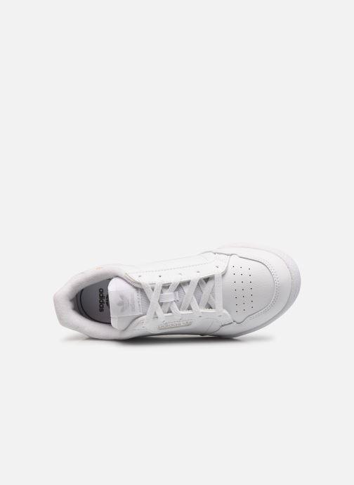 Baskets adidas originals Continental 80 C Blanc vue gauche