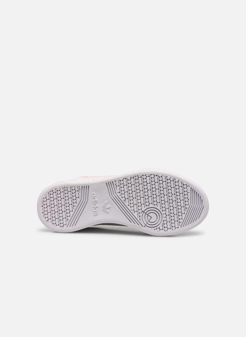 Sneakers adidas originals Continental 80 C Bianco immagine dall'alto