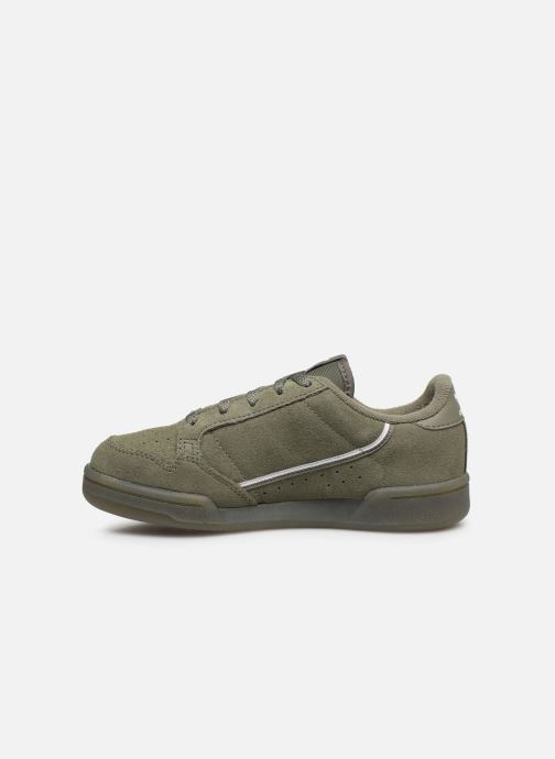 Baskets adidas originals Continental 80 C Vert vue face