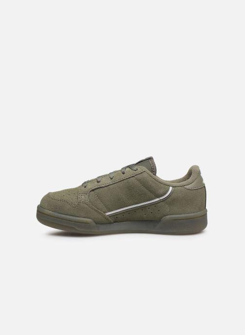 Baskets adidas originals Continental 80 C Vert vue face