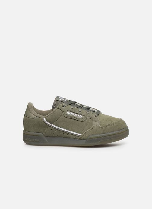 Trainers adidas originals Continental 80 C Green back view