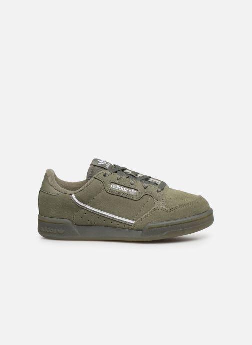 Deportivas adidas originals Continental 80 C Verde vistra trasera