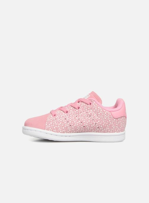 Sneakers adidas originals Stan Smith EL I Roze voorkant