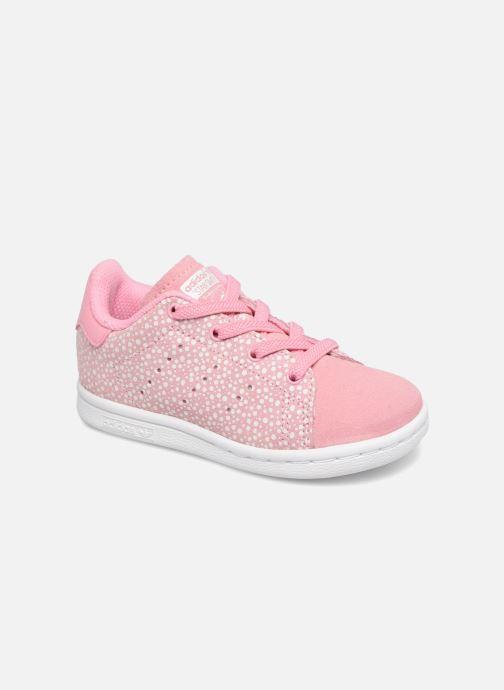 Baskets Adidas Originals Stan Smith EL I Rose vue détail/paire