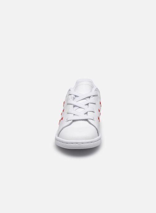 Baskets adidas originals Stan Smith EL I Blanc vue portées chaussures