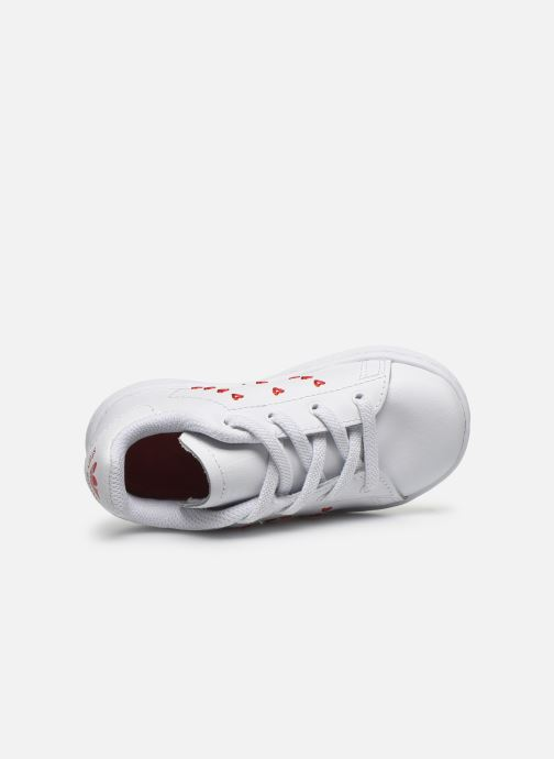 Baskets adidas originals Stan Smith EL I Blanc vue gauche