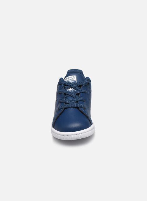 Deportivas adidas originals Stan Smith EL I Azul vista del modelo