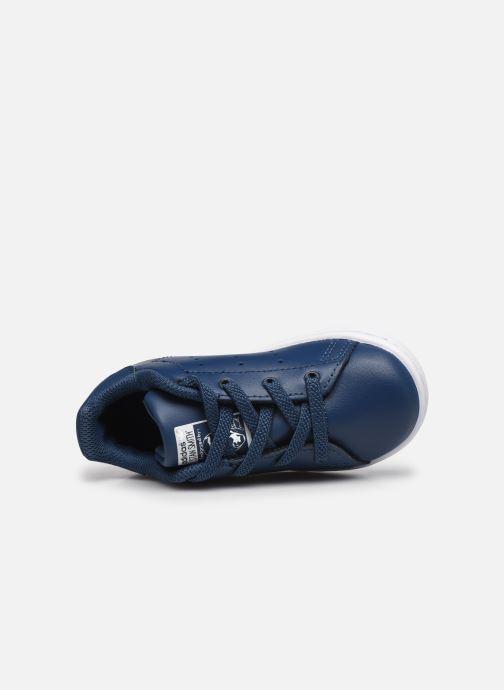 Deportivas adidas originals Stan Smith EL I Azul vista lateral izquierda