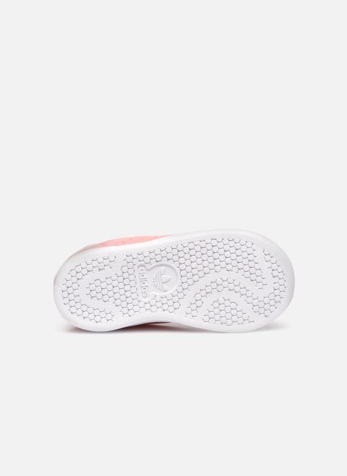 Sneaker adidas originals Stan Smith EL I rosa ansicht von oben