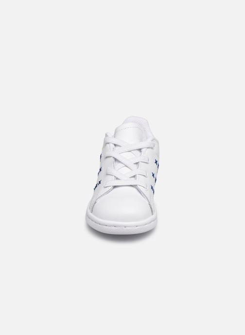 Deportivas adidas originals Stan Smith EL I Blanco vista del modelo