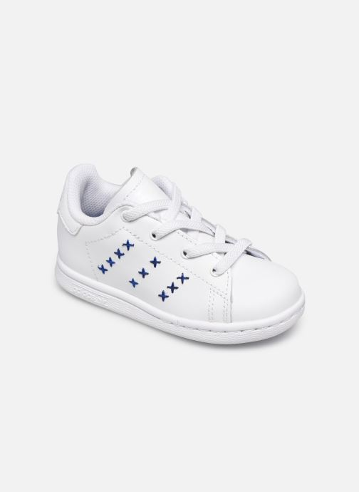 Deportivas adidas originals Stan Smith EL I Blanco vista de detalle / par