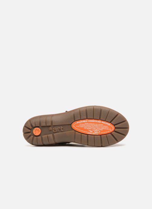 Chaussures de sport Art Assen 435 Marron vue haut