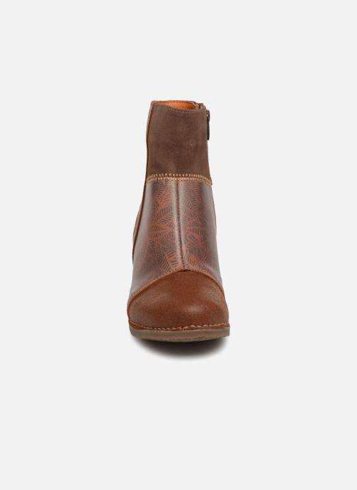 Boots en enkellaarsjes Art Salzburg 468 Bruin model
