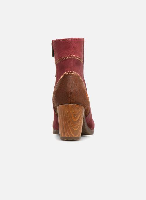 Stiefeletten & Boots Art Salzburg 468 weinrot ansicht von rechts