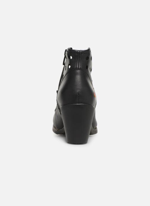 Boots en enkellaarsjes Art Genova 478 Zwart rechts
