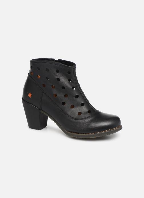 Boots en enkellaarsjes Art Genova 478 Zwart detail