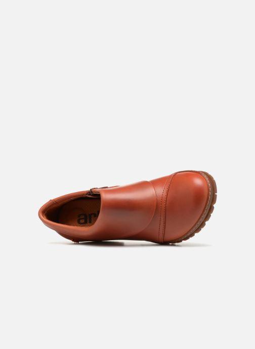 Bottines et boots Art Oslo 501 Orange vue gauche