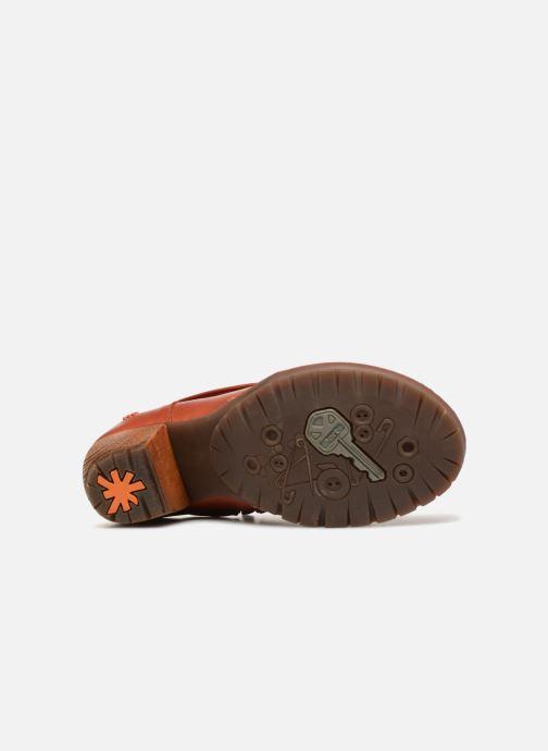 Bottines et boots Art Oslo 501 Orange vue haut