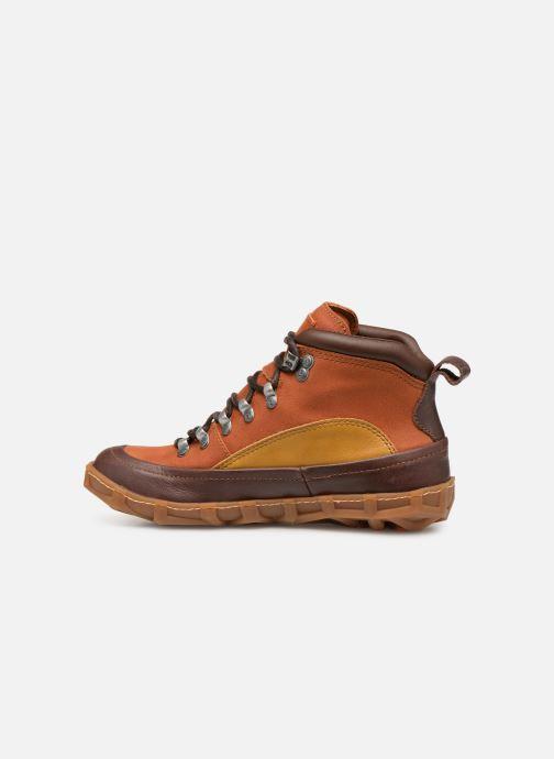 Bottines et boots Art Melbourne 1009 Marron vue face