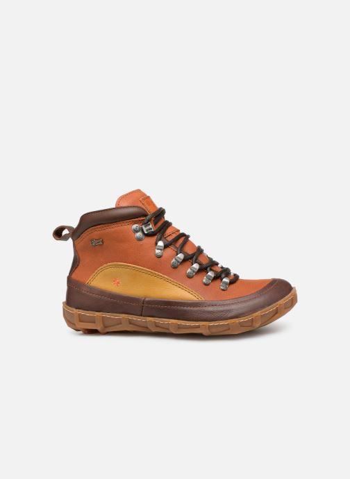 Bottines et boots Art Melbourne 1009 Marron vue derrière