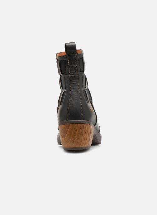 Stiefeletten & Boots Art Zundert 1015 schwarz ansicht von rechts