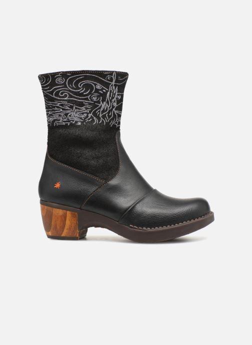 Bottines et boots Art Zundert 1016 Noir vue derrière