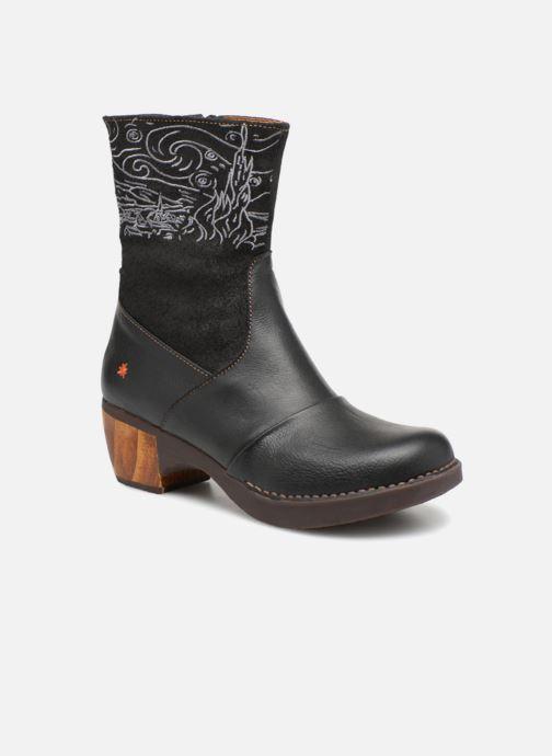 Bottines et boots Art Zundert 1016 Noir vue détail/paire