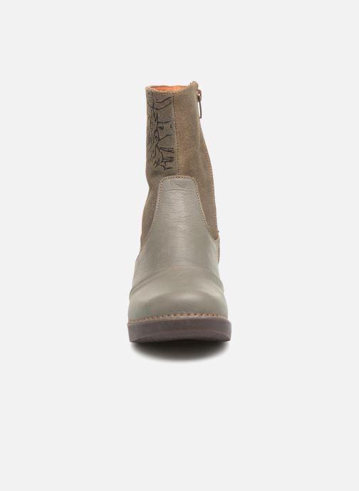 Bottines et boots Art Zundert 1016 Gris vue portées chaussures