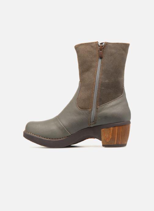 Bottines et boots Art Zundert 1016 Gris vue face