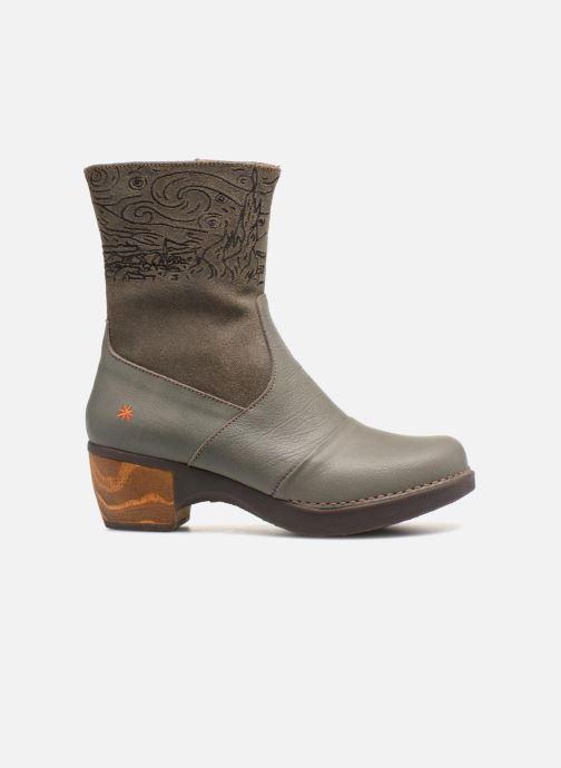 Bottines et boots Art Zundert 1016 Gris vue derrière
