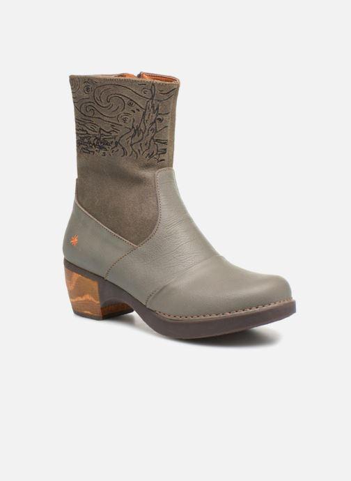 Bottines et boots Art Zundert 1016 Gris vue détail/paire