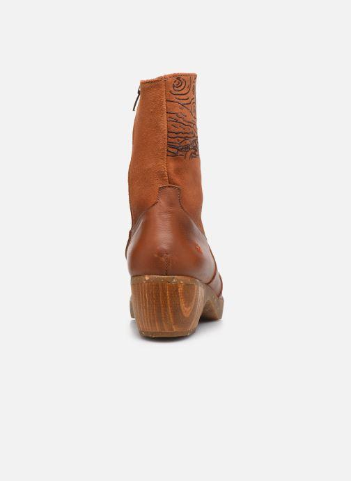 Bottines et boots Art Zundert 1016 Marron vue droite