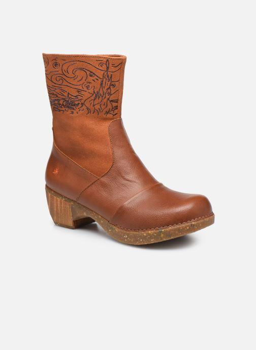 Bottines et boots Art Zundert 1016 Marron vue détail/paire