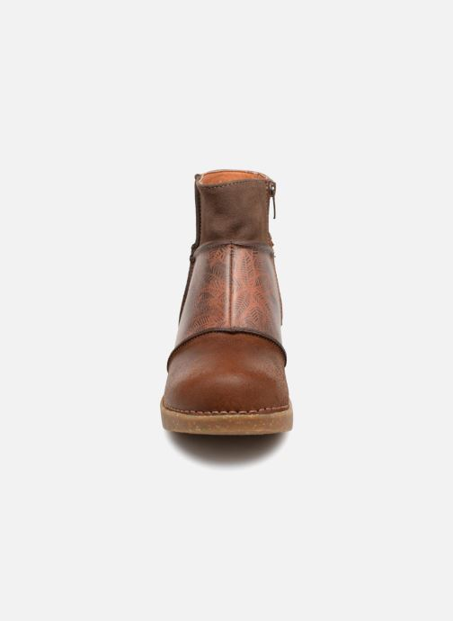 Bottines et boots Art Zundert 1018 Marron vue portées chaussures