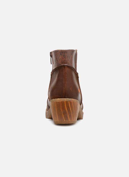 Bottines et boots Art Zundert 1018 Marron vue droite
