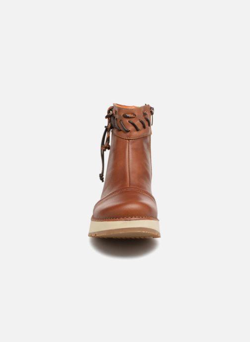 Bottines et boots Art Heathrow 1027 Marron vue portées chaussures