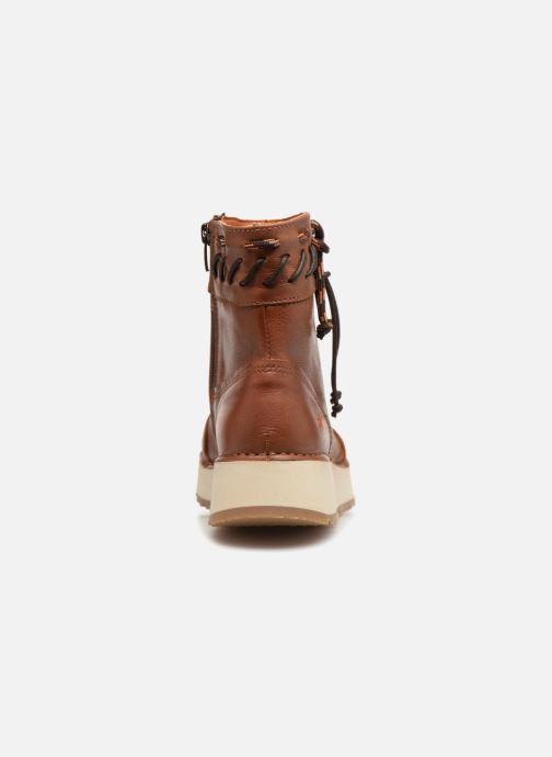 Bottines et boots Art Heathrow 1027 Marron vue droite