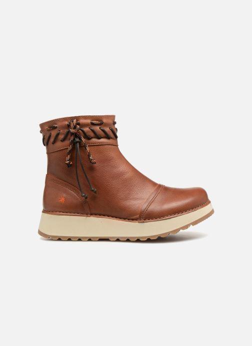 Bottines et boots Art Heathrow 1027 Marron vue derrière