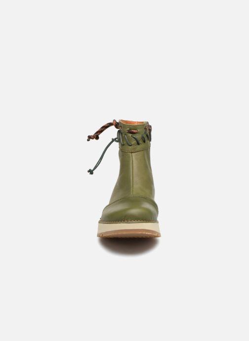 Bottines et boots Art Heathrow 1027 Vert vue portées chaussures