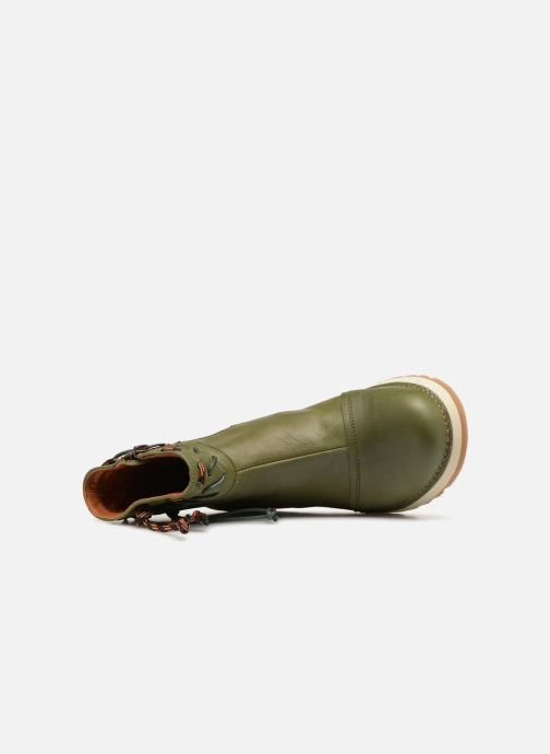 Bottines et boots Art Heathrow 1027 Vert vue gauche