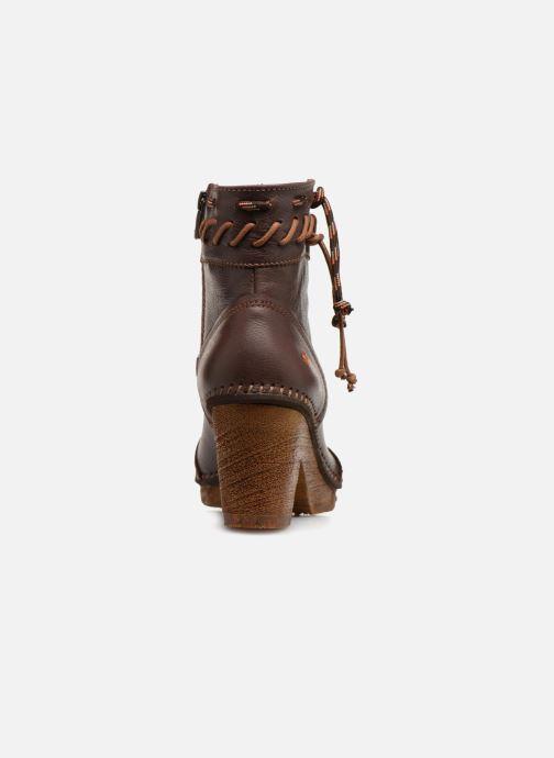 Boots en enkellaarsjes Art Amsterdam 1053 Bruin rechts