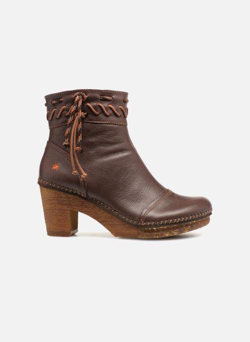 Boots en enkellaarsjes Art Amsterdam 1053 Bruin achterkant